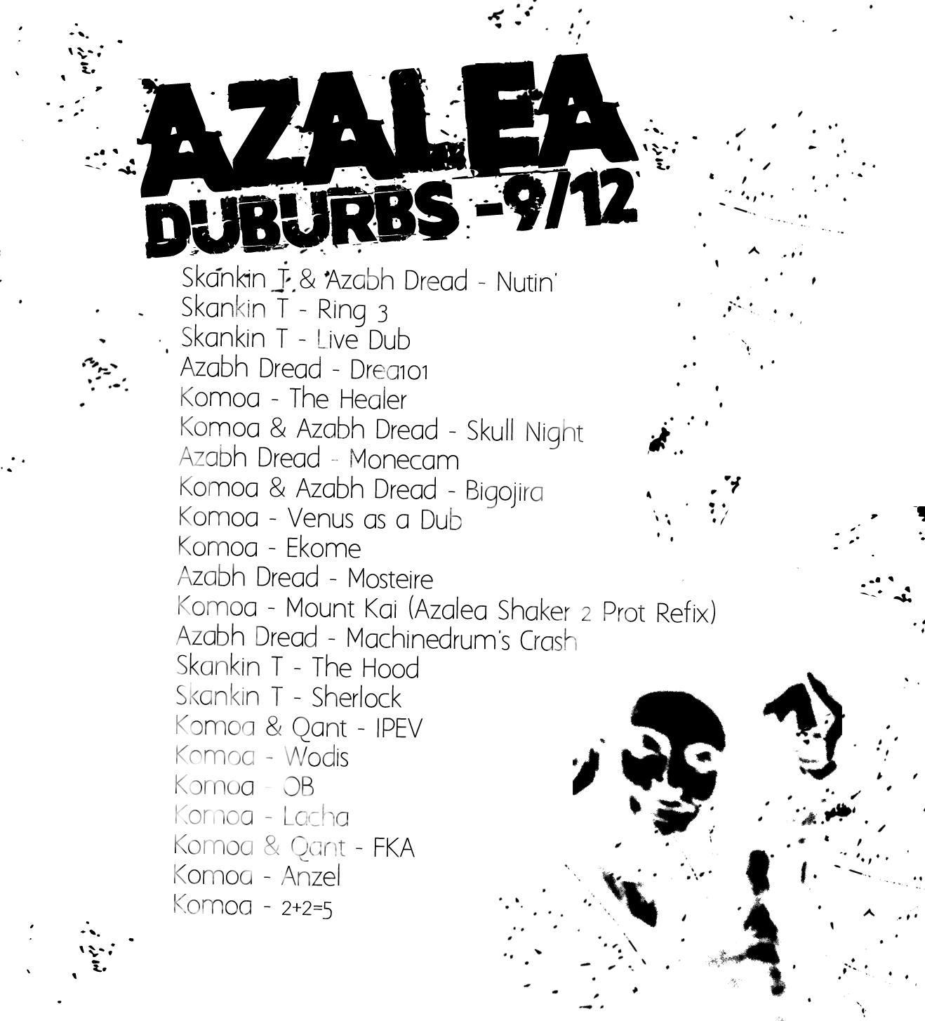 Tracklist podcast Azalea ssgc sur Egregore Radio